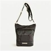 Clark & Mayfield Newport iPad Crossbody Bag; Black