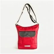 Clark & Mayfield Newport iPad Crossbody Bag; Red