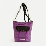 Clark & Mayfield Newport iPad Crossbody Bag; Purple