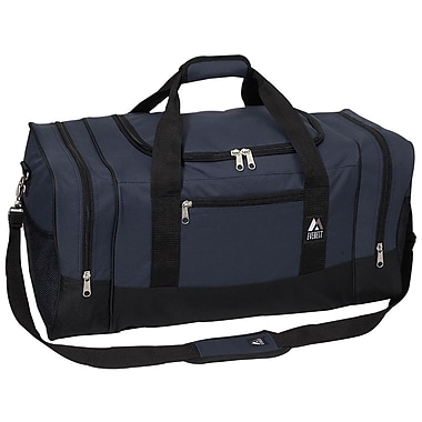 Everest 25'' Sporty Travel Duffel; Navy/Black