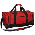 Everest 25'' Sporty Travel Duffel; Red/Black
