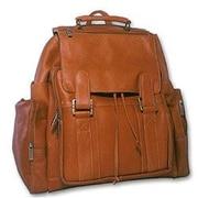 David King Top Handle Extra Extra Large Backpack; Tan