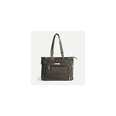Clark & Mayfield Sellwood Metro Laptop Tote Bag; Black