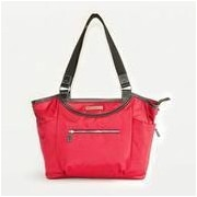 Clark & Mayfield Bellevue Laptop Tote Bag; Red
