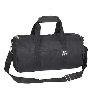 Everest 16'' Basic Round Travel Duffel; Black