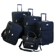 American Flyer 83600-5 BLK 5-Pc. Luggage Set