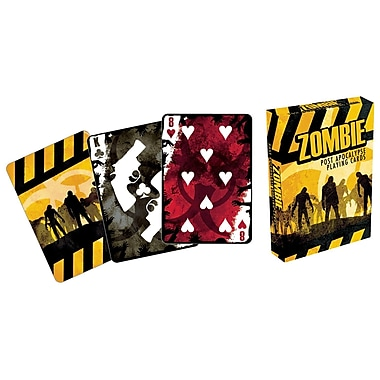 Aquarius Zombie Post Apocalypse Playing Cards
