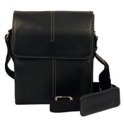 Dr. Koffer Fine Leather Accessories Messenger Bag; Venetian Black