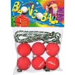 Blongo Family Fun Soft Ball Game Set; Red