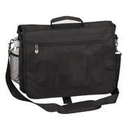 Preferred Nation Messenger Bag; Black