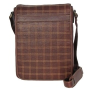 Dr. Koffer Fine Leather Accessories Messenger Bag; Venetian Brown