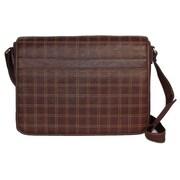 Dr. Koffer Fine Leather Accessories Messenger Bag; Venetian Brown