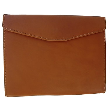 Piel Envelope Padfolio; Saddle
