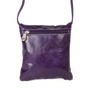 David King Florentine Mini Shoulder; Purple