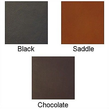 Piel Envelope Padfolio; Chocolate