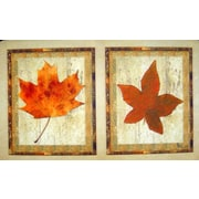 Custom Printed Rugs Maple Leaves Doormat