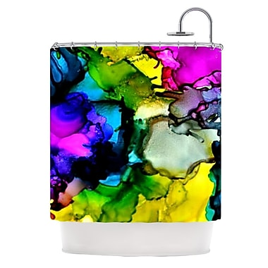 KESS InHouse A Little Out There Shower Curtain