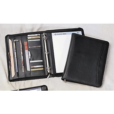Preferred Nation Leatherette Zip-Around 1'' Binder