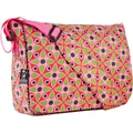 Wildkin Kaleidoscope Pink Kickstart Messenger Bag