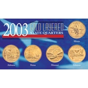 American Coin Treasure 2003 State Quarters Coin Display Case