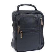 Claire Chase Medium Man Shoulder Bag; Black