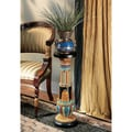 Design Toscano Regal Egyptian Luxor Pedestal Plant Stand (Set of 2)