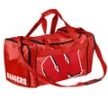 Forever Collectibles NCAA 11'' Travel Duffel; University of Wisconsin Badgers