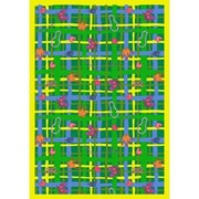 Joy Carpets Just for Kids My Little Princess Green Area Rug; 3'10'' x 5'4''