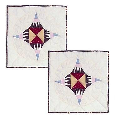 Patch Magic Hidden Circle Cotton Throw Pillow (Set of 2)