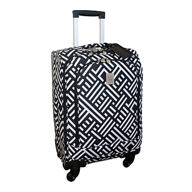 Jenni Chan Signature Spinner Upright; Black and White
