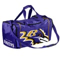 Forever Collectibles NFL 11'' Travel Duffel; Baltimore Ravens