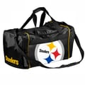 Forever Collectibles NFL 11'' Travel Duffel; Pittsburgh Steelers