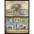 American Coin Treasure 150th Anniversary Civil War Commemorative Stamp Sleeve