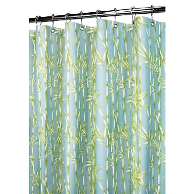 Watershed Prints Garden Shower Curtain; Seaspray