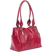 Claire Chase Marita Lady's Tote Bag; Red