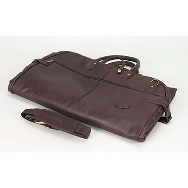 Claire Chase Luggage Tri-Fold Garment Bag; Caf