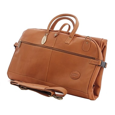Claire Chase Luggage Tri-Fold Garment Bag; Saddle