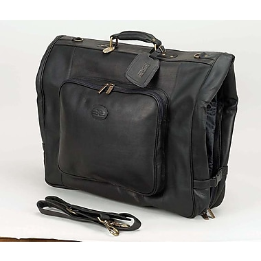 Claire Chase Luggage Classic Garment Bag; Black