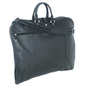 Mercury Luggage Sondrio Leather Garment Bag