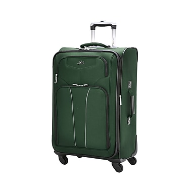 Skyway Sigma 4 20'' Expandable Carry-On Suitcase; Midnight Green