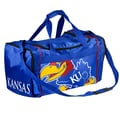 Forever Collectibles NCAA 11'' Travel Duffel; University of Kansas Jayhawks