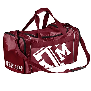 Forever Collectibles NCAA 11'' Travel Duffel; Texas A & M University Aggies