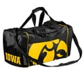 Forever Collectibles NCAA 11'' Travel Duffel; University of Iowa Hawkeyes