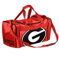 Forever Collectibles NCAA 11'' Travel Duffel; University of Georgia Bulldogs