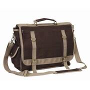 Preferred Nation Expresso Messenger Bag; Brown