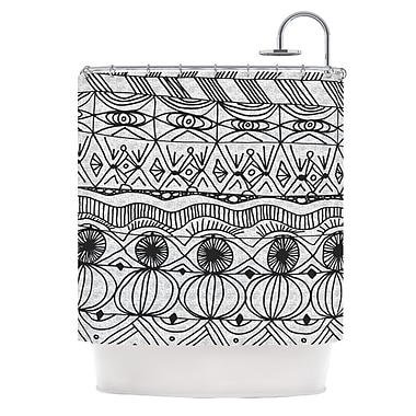 KESS InHouse Blanket of Confusion Shower Curtain