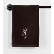 Browning Buckmark Hand Towel; Brown / Tan