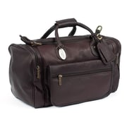 Claire Chase Classic Sports Valise 18'' Travel Duffel; Caf
