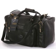 Claire Chase Classic Sports Valise 18'' Travel Duffel; Black
