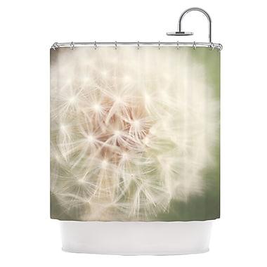 KESS InHouse Dandelion Shower Curtain